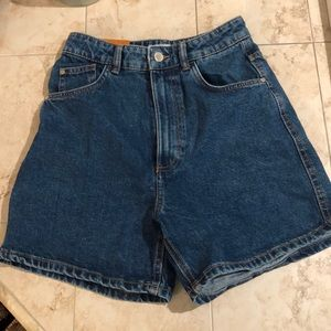 Zara High Waisted Shorts NWNT